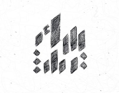 Arabic lettering