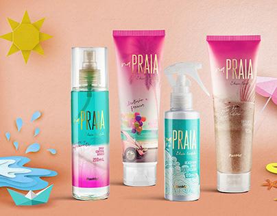 Na Praia - Package Design