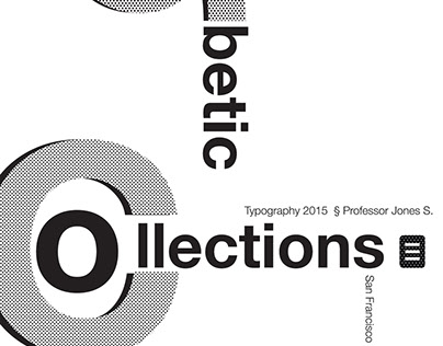 Alphabetic Collections | 2015 SFSU