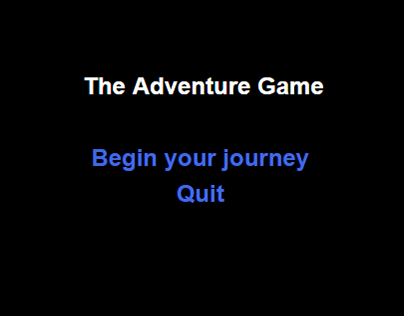 The Adventure Game