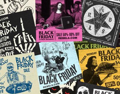 Rebel8 Black Friday campaign
