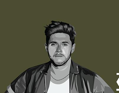 One Direction | Niall Horan (Vector Art)