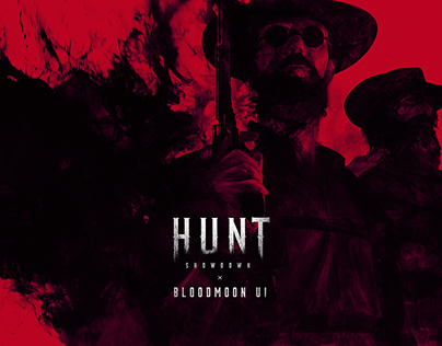 Bloodmoon UI | Hunt: Showdown Game UI/UX Concept