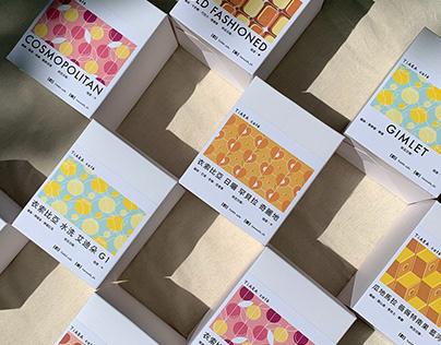 Packaging : TiARA cafe 咖啡豆包裝&風味印花設計