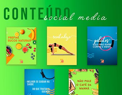 Conteúdo e Social Media | Studio C Pilates