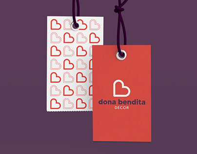 Dona Bendita Decor: Branding
