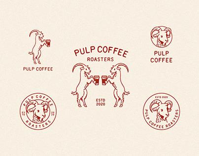 Pulp Coffee Branding