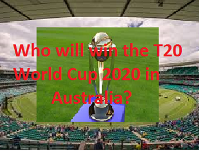 Who will win the T20 World Cup 2020 in Australia?