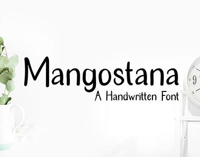 Mangostana - A Handwritten Font