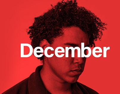 December - Modern Typeface + Webfonts