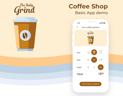 Coffee Shop - Basic demo App