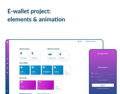 E-wallet project details