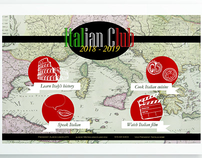 Italian Club Poster