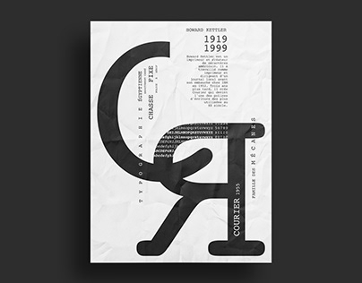 Design Typographique - Courier