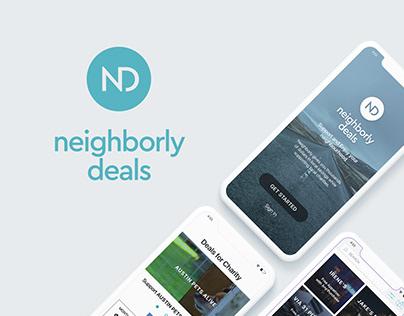 Neighborly deals: application design