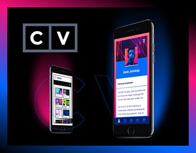 CV - Career Viewer iOS App