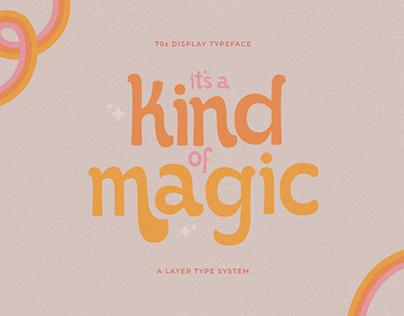 IT'S KIND OF MAGIC - FREE FONT