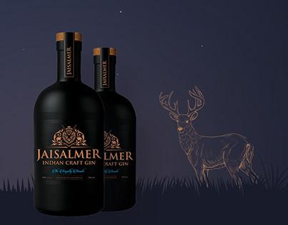 Jaisalmer Gin website Design