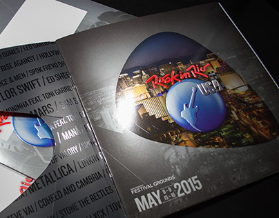 Rock In Rio Promotional Booklet