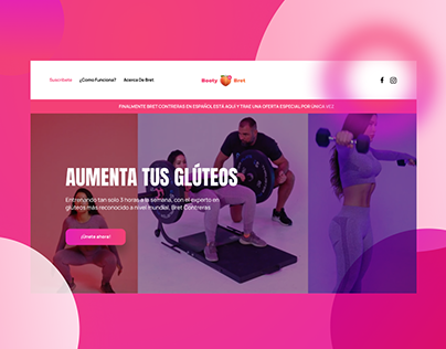Booty by Bret - Landing Page