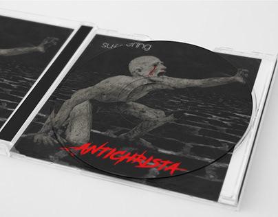 Antichrista album cover ''Suffering''