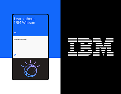 IBM — New website redesign