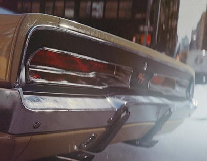Dodge Charger 1969 | CGI