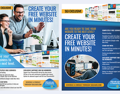 Full Page Ad designs
