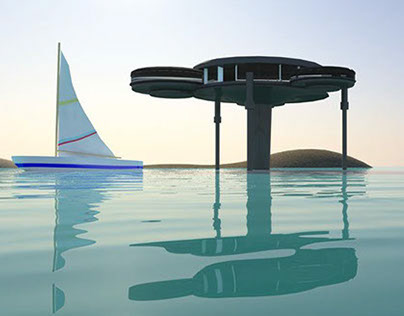 3D Alien house