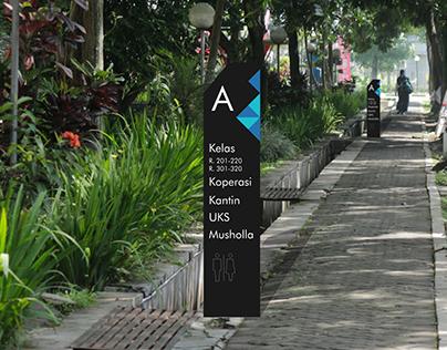 Redesigning Signage at Telkom university