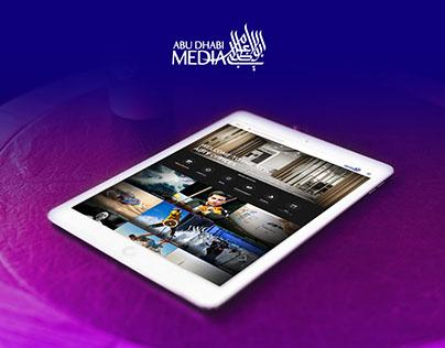 Abu Dhabi Media Company | Web Design