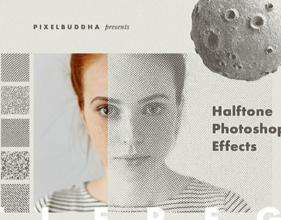 Alter Ego Halftone Photoshop EffectbyPixelbuddha