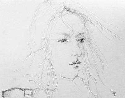 portrait N122: Ambre