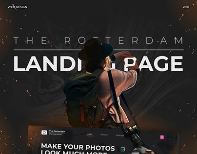 Landing page | The Rotterdam photographer | WEB