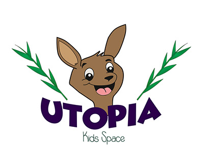 Utopia Kid's Space, Logo Design