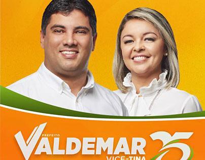 Campanha Política - Valdemar - Poço Branco (Eleito)