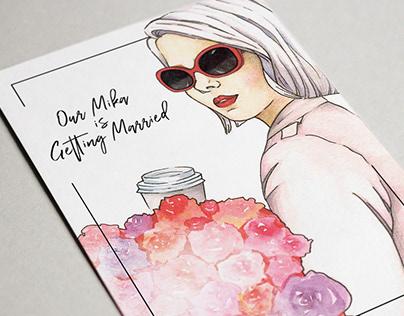 Postcard | Mika`s Newton Bachelorette Party