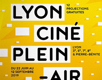 Lyon Ciné Plein-air – Identité visuelle