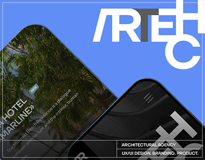 Website design for a large architectural bureau