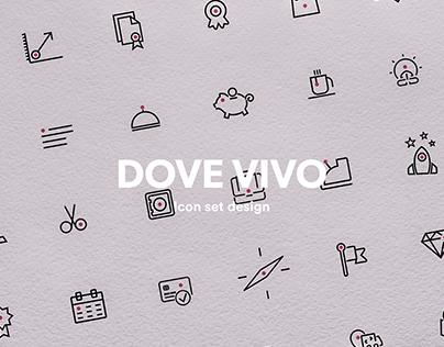 A (brand) new icon design system for dovevivo.it