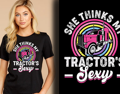 Tractor T-shirt Design