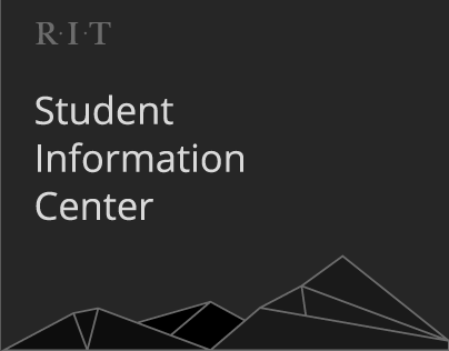 RIT Student Information Center Prototype