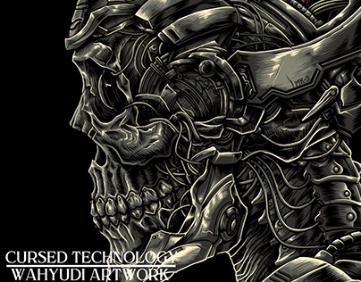 Cursed Technology Tshirt Design