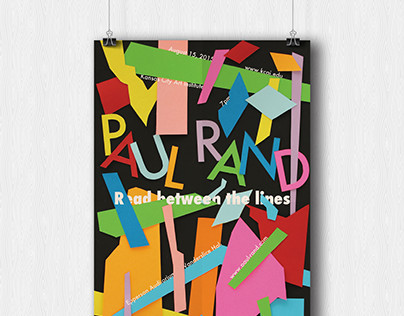 Paul Rand Lecture Poster