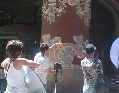 "Making of ""living Barcelona"" by Mario Hernandez"
