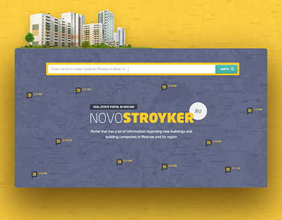 Real Estate portal in Moscow