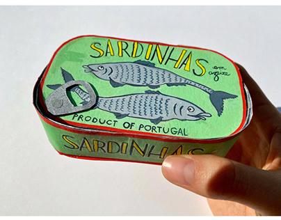 Sardine Artist Book