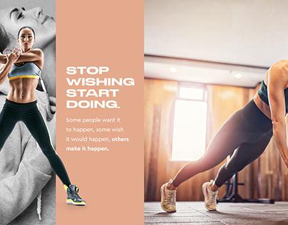Stop wishing Start doing.