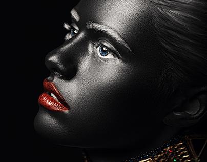 Black skin (beauty retouch#2)