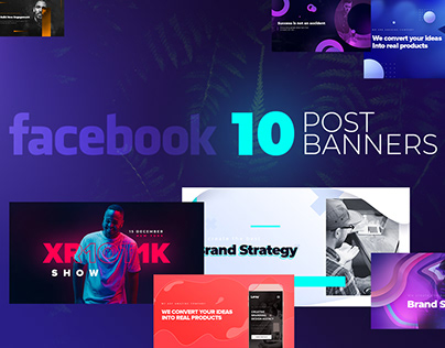Facebook Post Banners v3